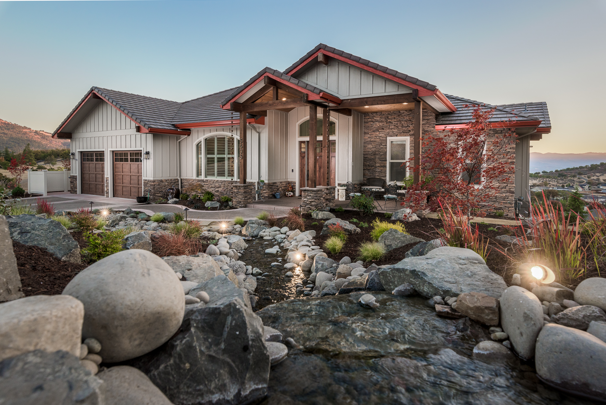 Custom Home in East Medford