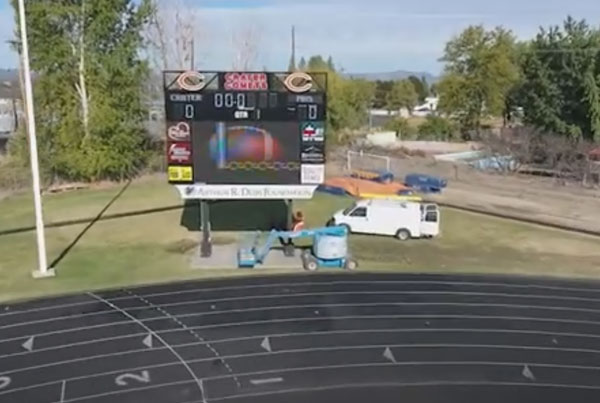 Crater High School Scoreboard